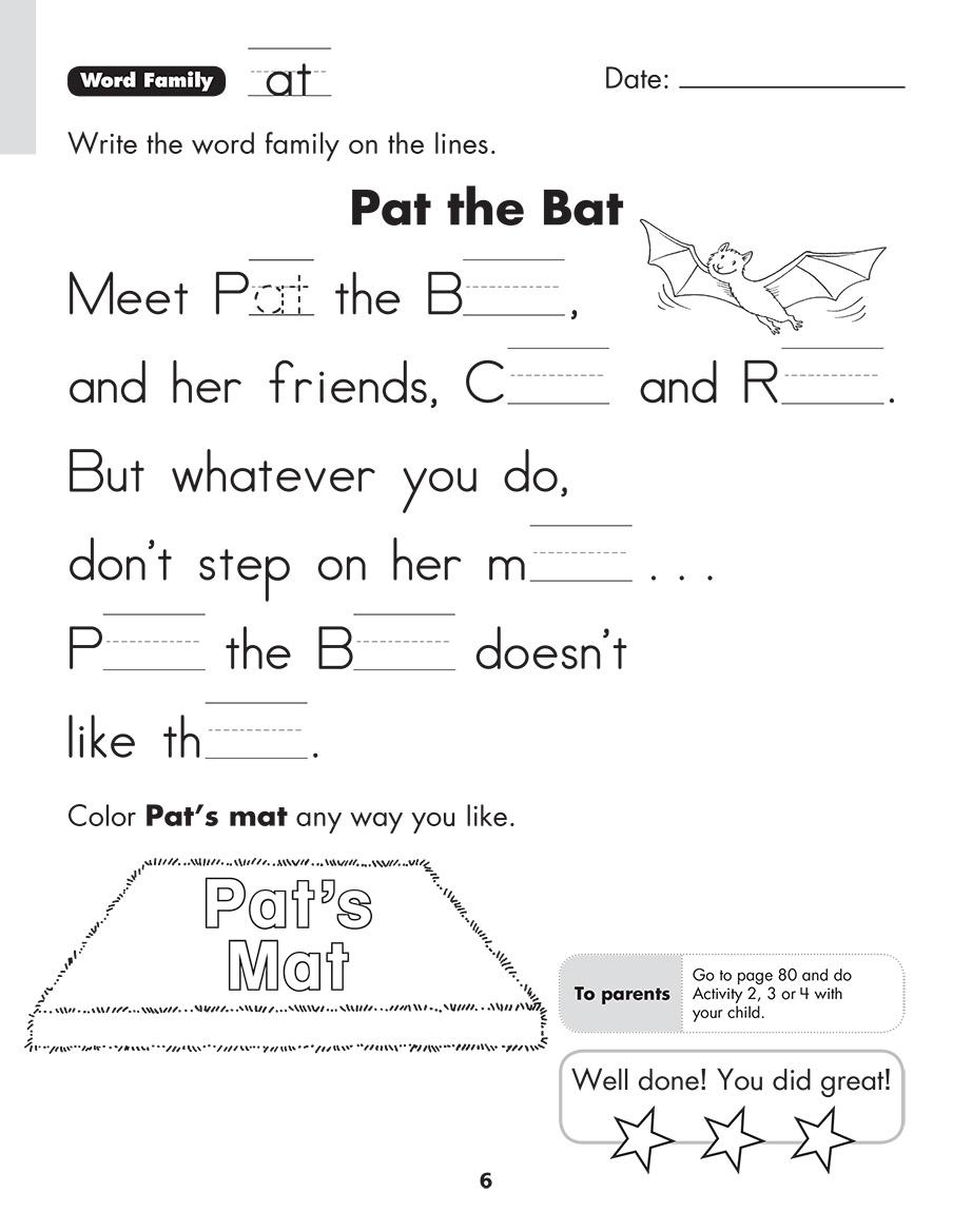 Scholastic Study Smart Reading Skills Builder K1