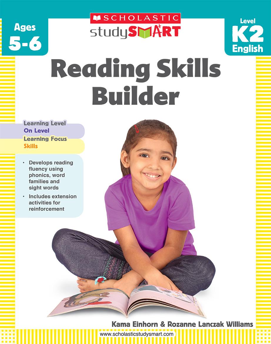 Scholastic Study Smart Reading Skills Builder K2