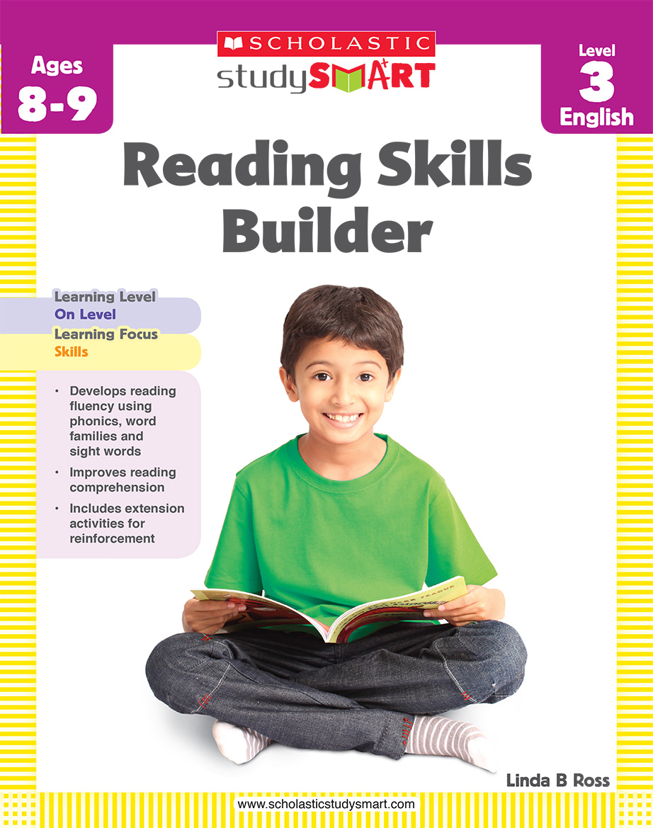 Scholastic Study Smart Reading Skills Builder 3