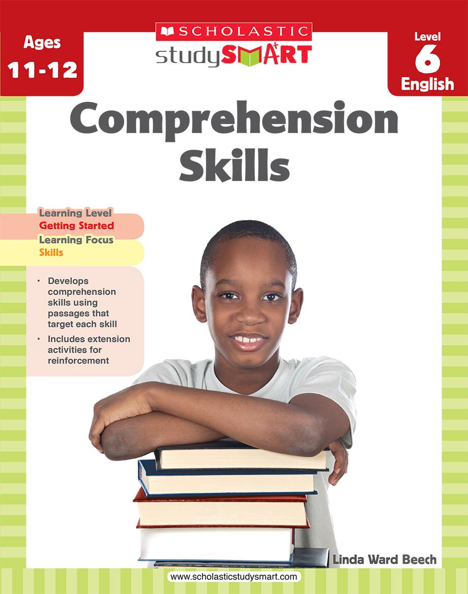 Scholastic Study Smart Comprehension Skills L6