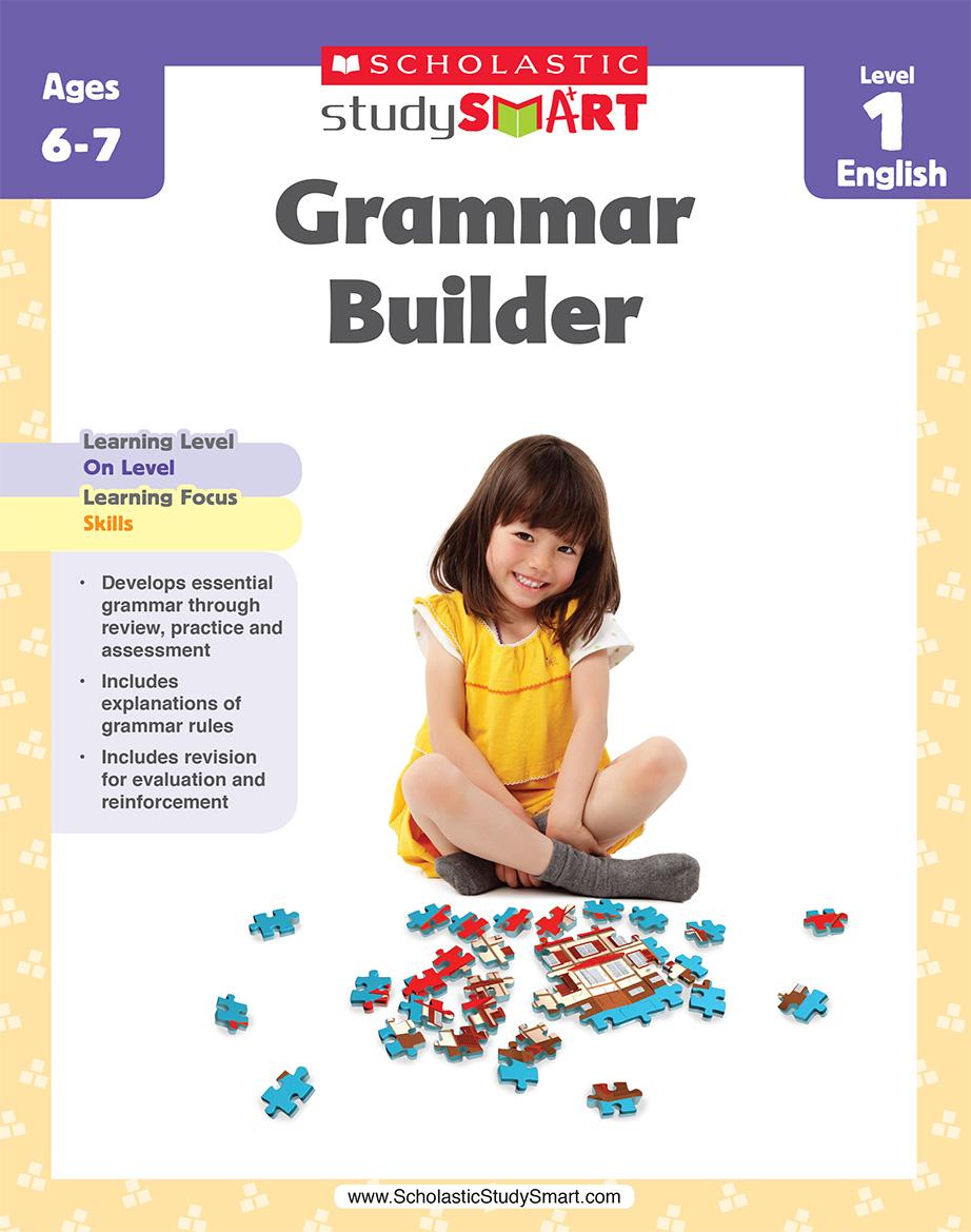 Scholastic Study Smart Grammar Builder 1