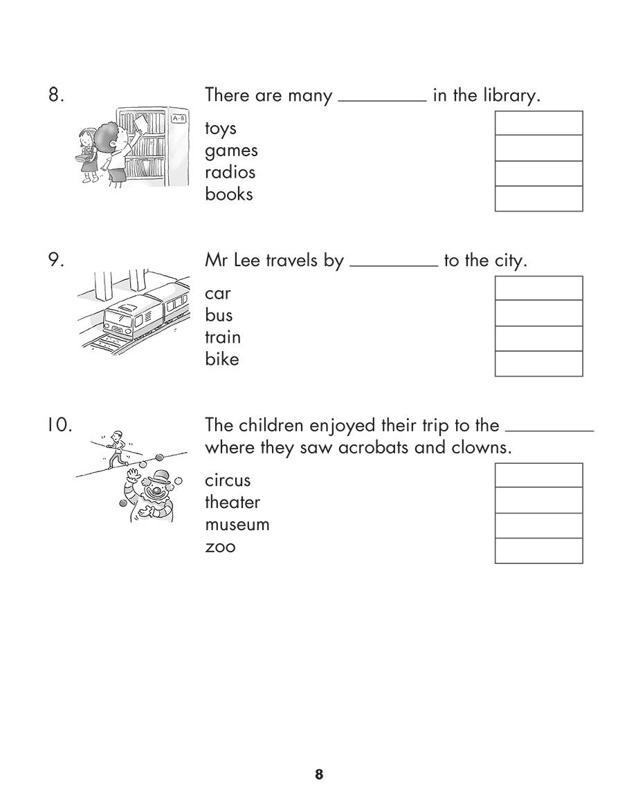 Scholastic Study Smart English Practice Papers 1