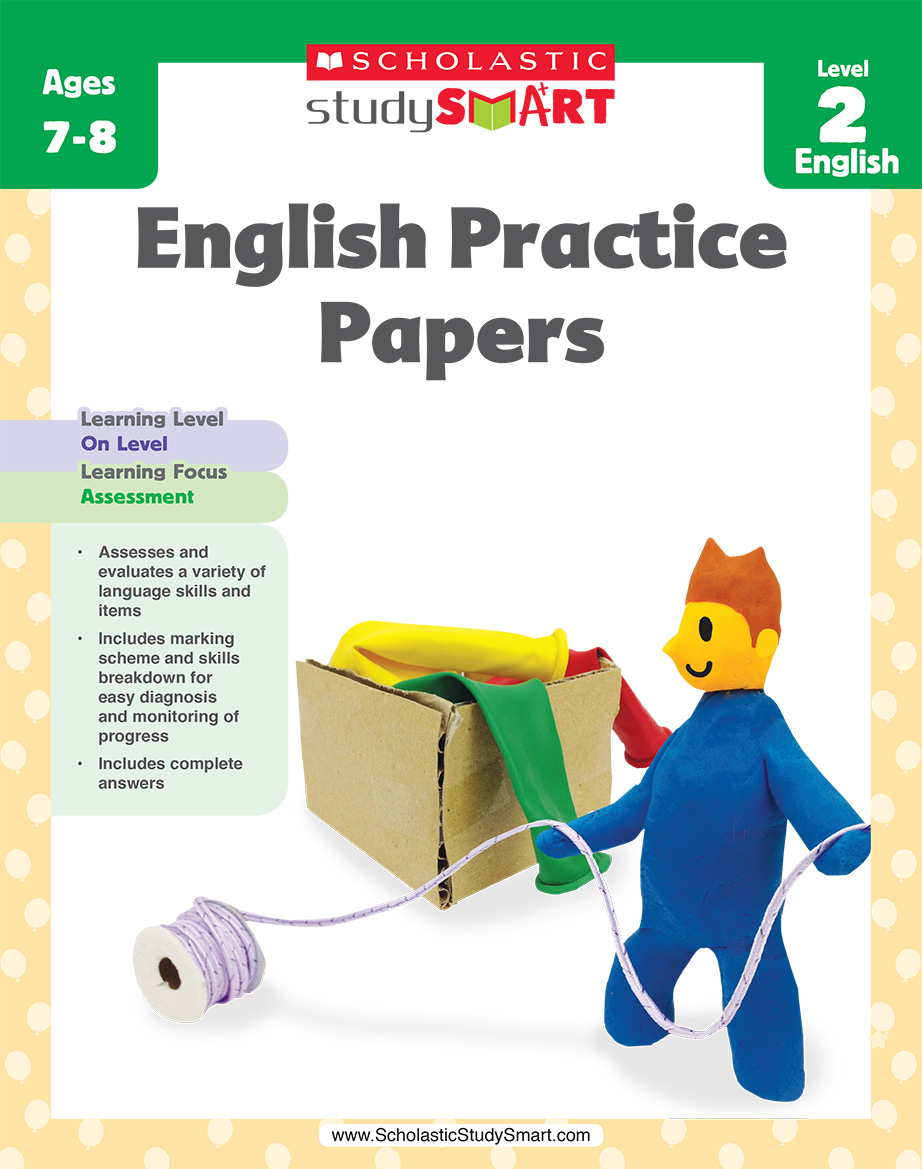 Scholastic Study Smart English Practice Papers 2