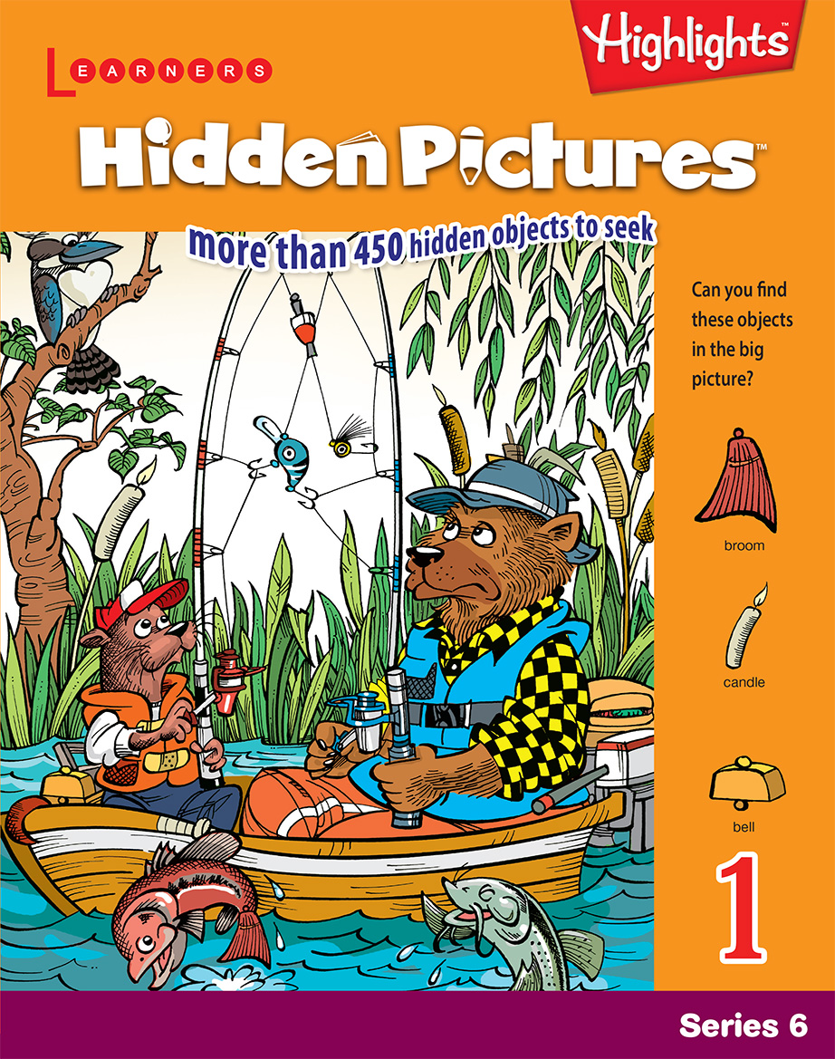 Hidden Pictures Book