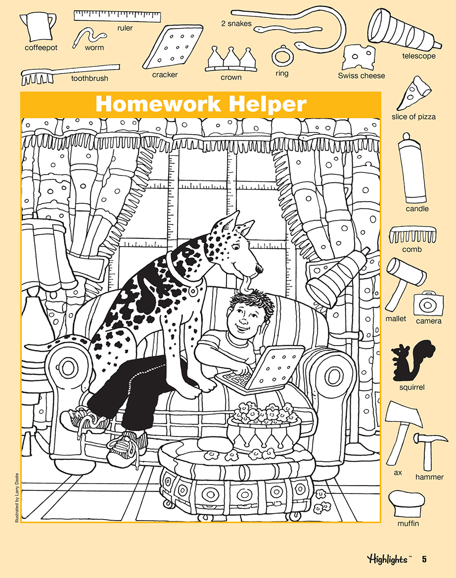 Hidden Pictures Book 3 Series 6 Scholastic Learners