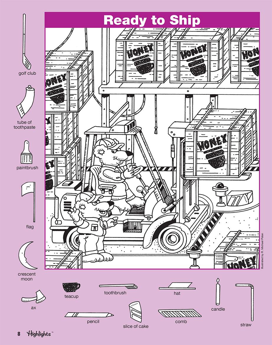 Hidden Pictures Book 4 (Series 6) | Scholastic International