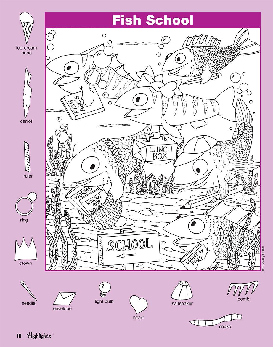 Hidden Pictures Book 4 Series 6 Scholastic Learners