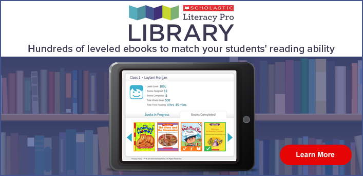 Literacy Pro Library- simple to use ebook library