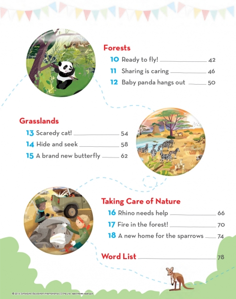 My World of Nature - Sample page 3