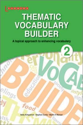 Vocabulary Builder Book