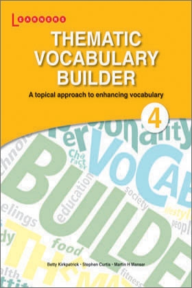 thematic vocabulary builder 4 scholastic asia